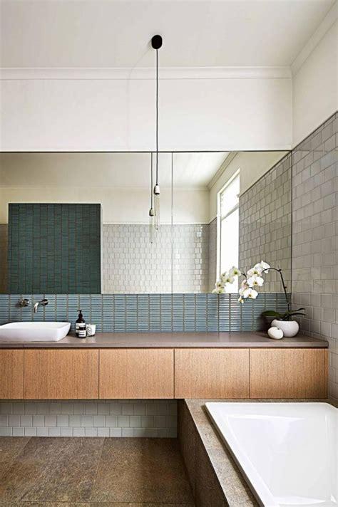 modern bathroom  australia interiors  color