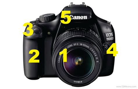 Lensa Zoom Canon 1100d bagian bagian dslr canon 1100d beserta fungsinya nida