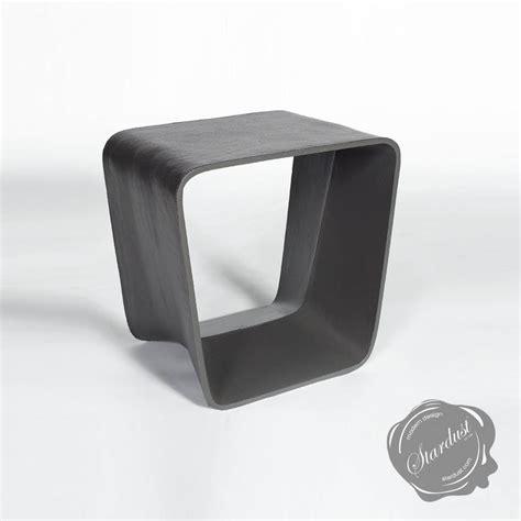 Ecal Mid Century Modern Outdoor Chair Garden Stool