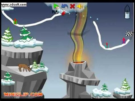 sled line game snow line a free winter game