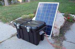 best backup solar generators for home use solargenerator