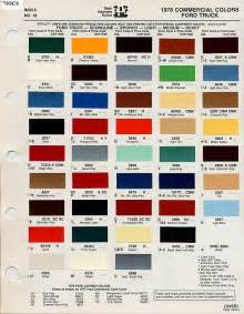 interior paint codes for 1978 ford truck enthusiasts forums
