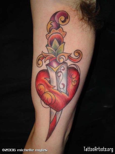 heart dagger tattoo designs 34 best broken dagger images on