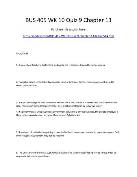 Mba Business Week 6 Quiz Ch 13 405 week 10 quiz 9 chapter 13 by alliehaze1 issuu