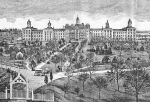 Pontiac Asylum Pontiac State Hospital Asylum Architecture History