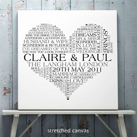 Wedding Word by Personalised Wedding Word Print By Cherry Pete