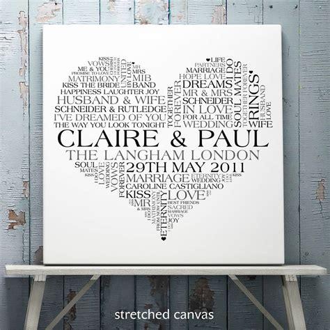 wedding word personalised wedding word print by cherry pete