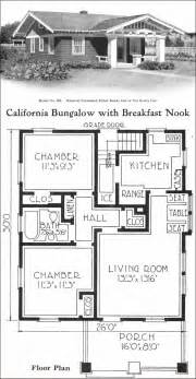 small bungalow floor plans california style bungalow vintage small house plans