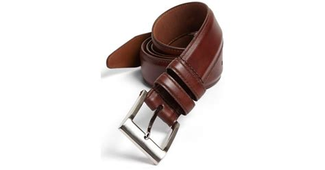 allen edmonds classic wide belt in for chili lyst