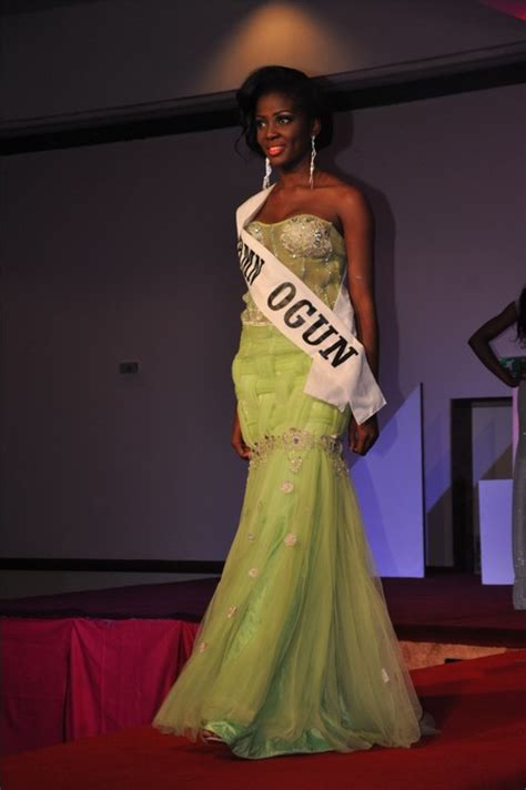 Beautiful Model Competition by Winners Of Most Beautiful Model In Nigeria Contest As