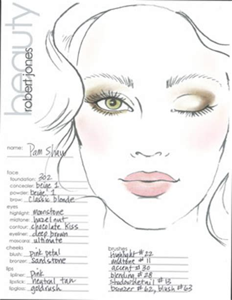 makeup design template makeup template search make up looks