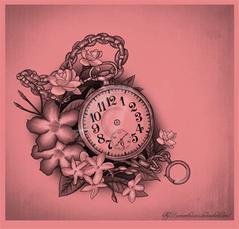 pocket watch tattoo tattoos on clock sleeve pocket