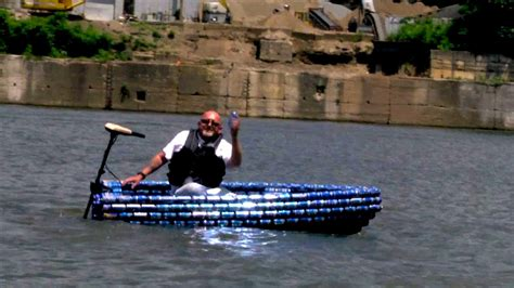 Lil Bud The Boat Made From Bud Light Cans