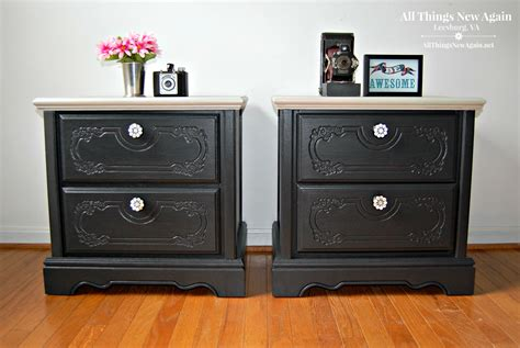 Painted Nightstands by Pretty Painted Nightstands On Sale At All Things New