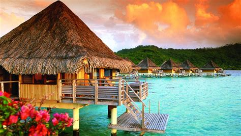 worlds  overwater bungalows escape