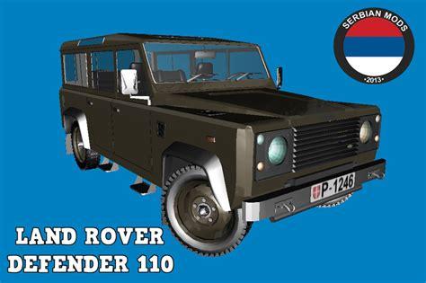 land rover defender inside gta san andreas land rover defender vojno vozilo mod