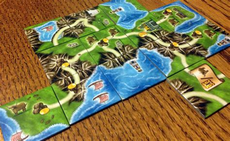 Carcassonne Amazonas Board review of isle of rpgnet rpg index