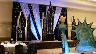 new york themed wedding decorations new york prom theme decorations studio design