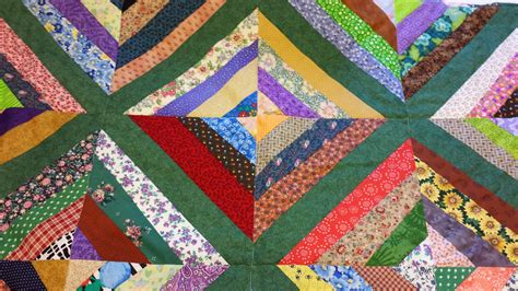 How To Patchwork Quilt - my patchwork quilt how to make a string quilt block