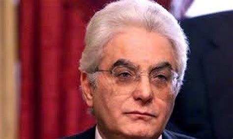 chi l attuale presidente della sergio mattarella presidente della repubblica renzi