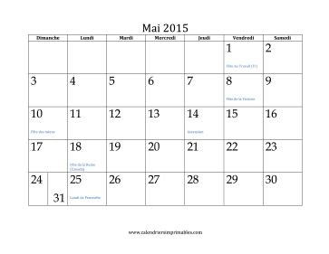 Mai 2011 Calendrier Calendrier Gratuit 2015 Pdf 2017 2018 Best Cars Reviews