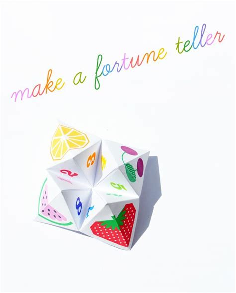 How To Make A Paper Chatterbox - origami fortune teller aka chatterbox boats the fold