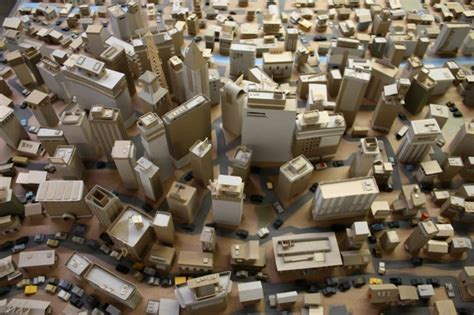 How To Make A City Out Of Paper - kiel johnson s paper city paper