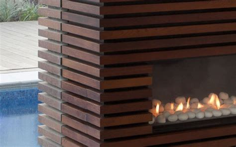 design idea the wood slats on this tv and fireplace