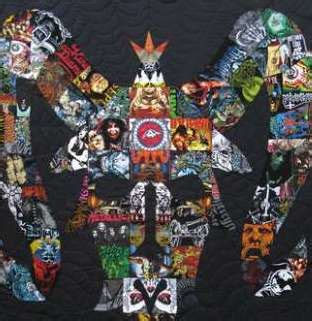 Concert T Shirt Quilt by Artist Turns Concert Shirts Into Valuable Quilts News Network