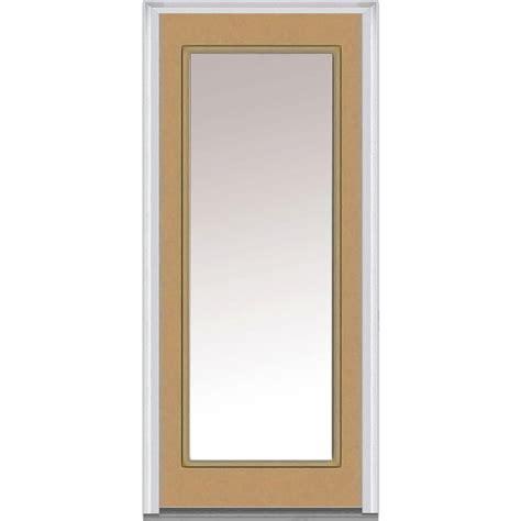 30 X 80 Door by Milliken Millwork 30 In X 80 In Clear Glass Left