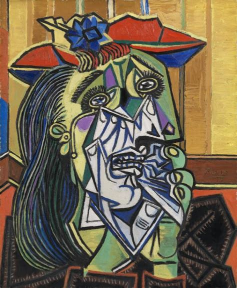 picasso paintings description weeping pablo picasso tate