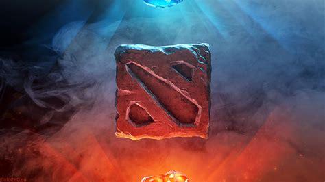 wallpaper dota 2 logo hd dota 2 logo fire 0r wallpaper hd