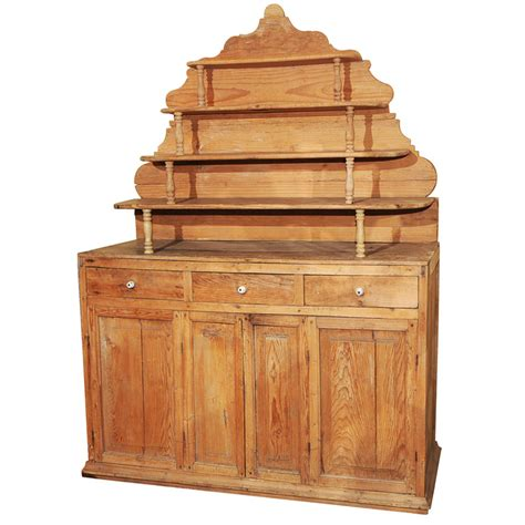 Pine Hutch For Sale rustic pine hutch cupboard for sale antiques classifieds