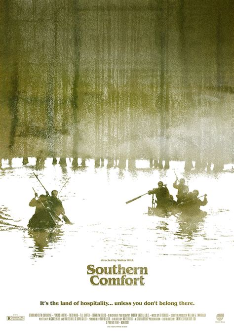 southern comfort walter hill quot southern comfort quot movie poster on behance