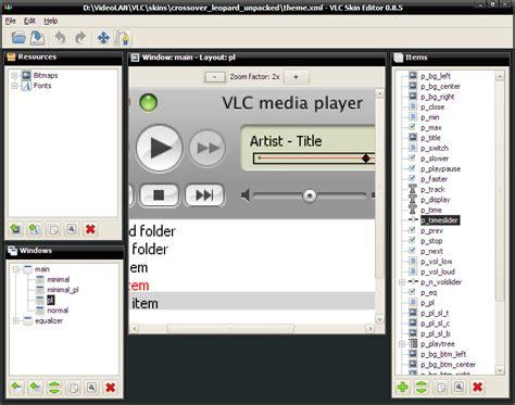 Videolan Tutorial | videolan vlc media player skin editor