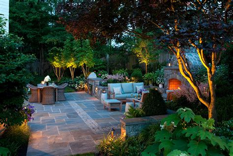 Outdoor Lighting in MD, VA & DC   Landscape Lighting