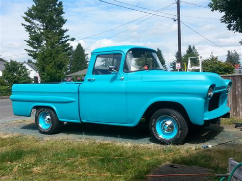 truck today plasti dipped a 1958 gmc fleetside truck today
