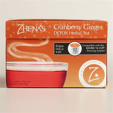 Does Everyday Detox Tea Work For Tests by Zhena S Daily Detox Tea Single Serve Cups World Market