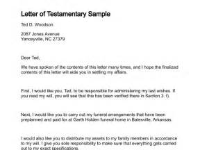estate distribution letter template letter of testamentary
