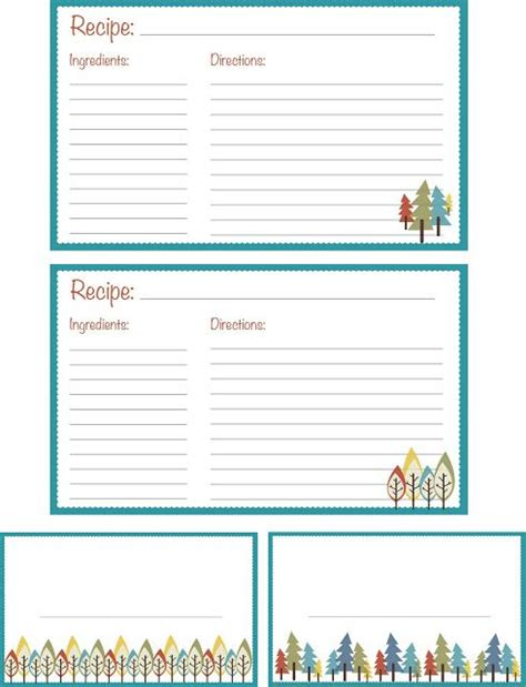printable recipe labels 129 best images about borders recipe cards on pinterest