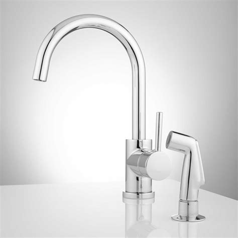 montpellier single hole gooseneck kitchen faucet kitchen kitchen faucets montpellier single hole gooseneck pull