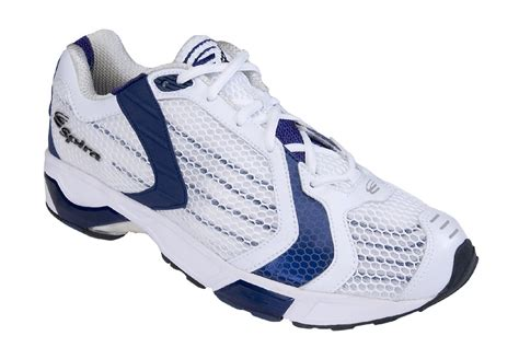 spira athletic shoes spira volare 3 white cobalt mens running shoes