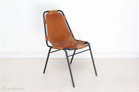 Chaise Les Arcs Perriand by 1960s Set Of Four Chairs Chosen By Perriand At