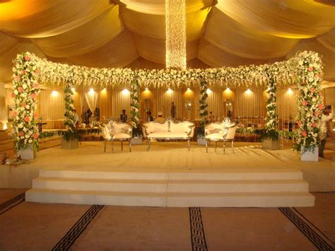 Wedding Decoration by Orchid Stage Decoration Flower Gallery