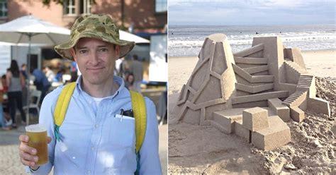 calvin seibert new york artist builds the most mind blowing sandcastles