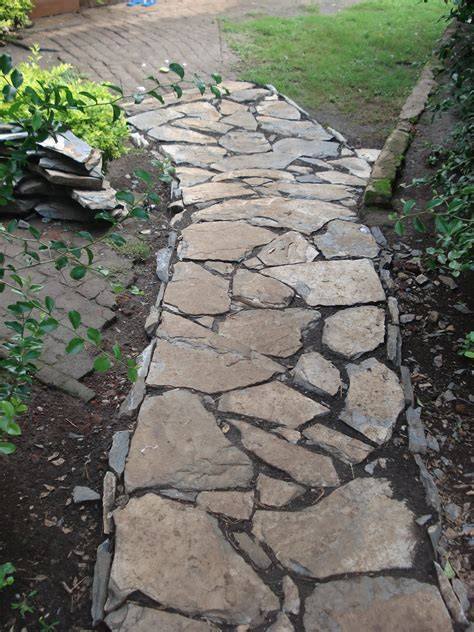 rock pathways alternative building construction in tanzania stone walkway