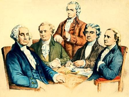 george washington cabinet members cioccahistory washington s cabinet 1789 6