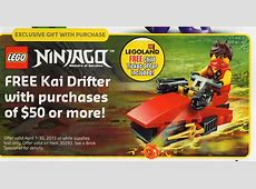 April 2015 LEGO Store Calendar: Sales, Promos & Events ... Lego Ninjago New Episodes 2015
