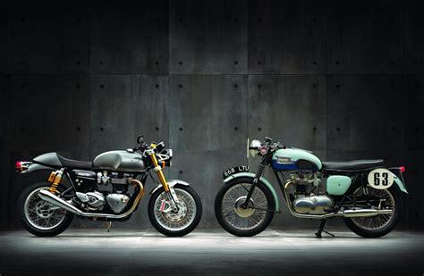 Triumph Motorrad Zubehör Online Shop by Triumph Thruxton Und Thruxton R 2016 Motorrad Fotos