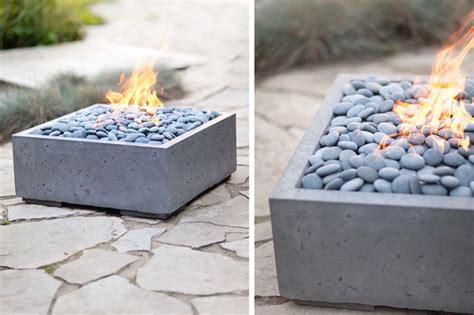 concrete decor alea concrete firepit by dekko concrete modern fire